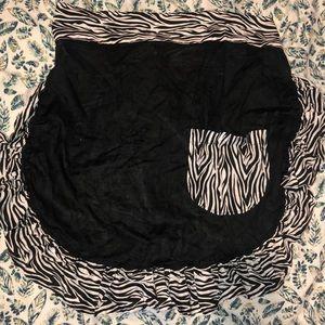Zebra costume apron